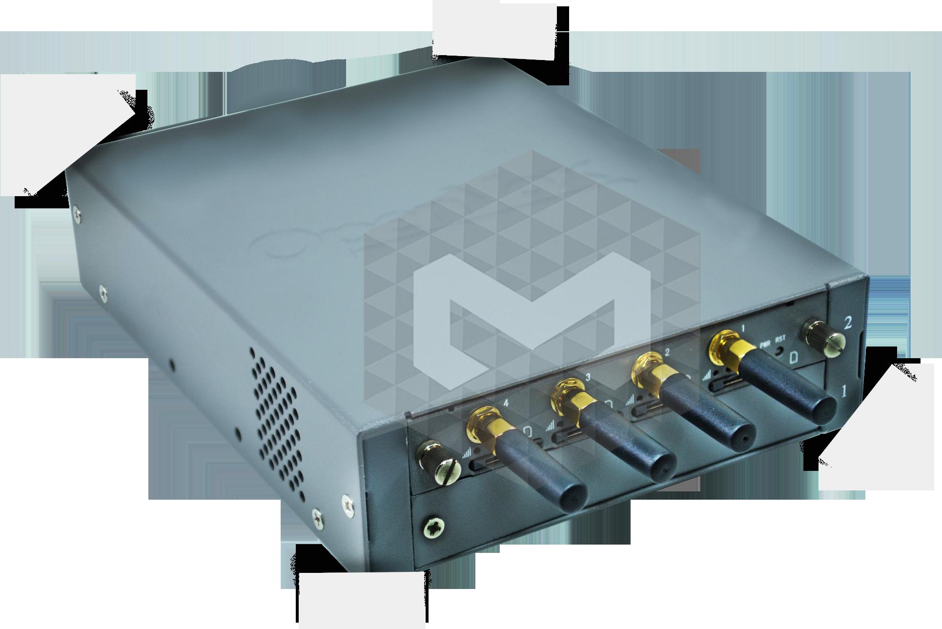 OX-GW1204-4-Portas-3G-GSM
