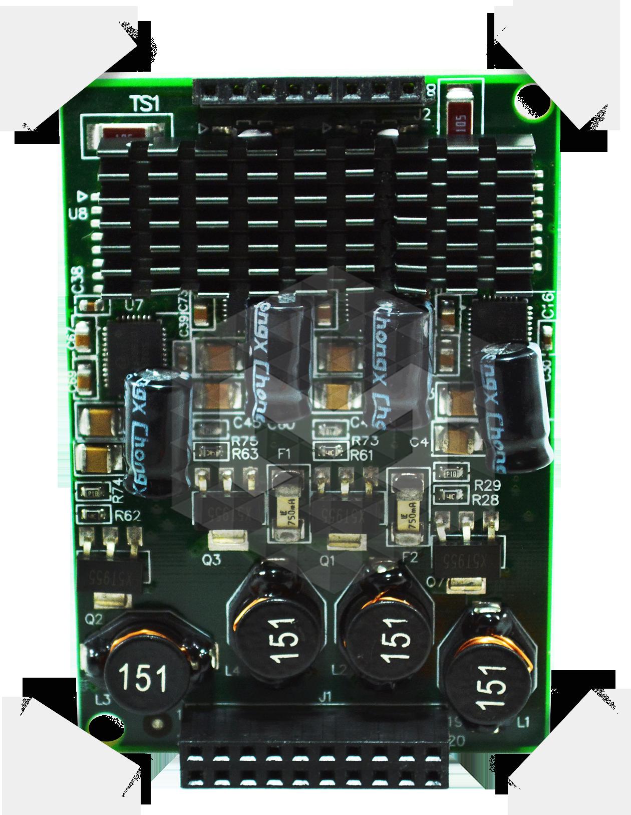 X400M 4 módulos FXS