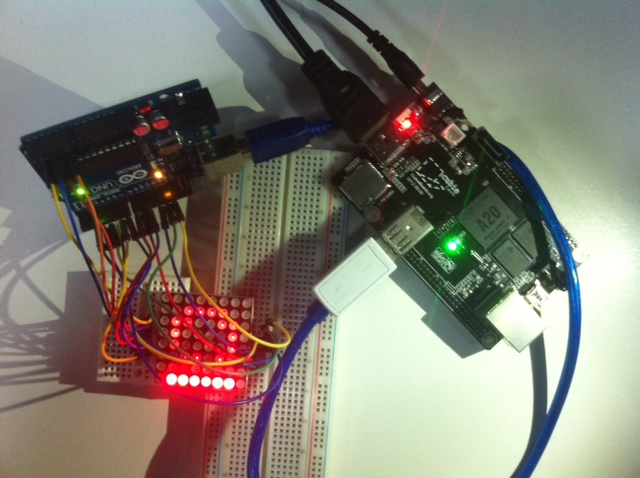 Led array com arduino lojamundi