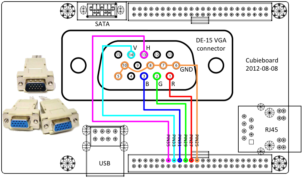 vga wiring diagram vga image wiring diagram