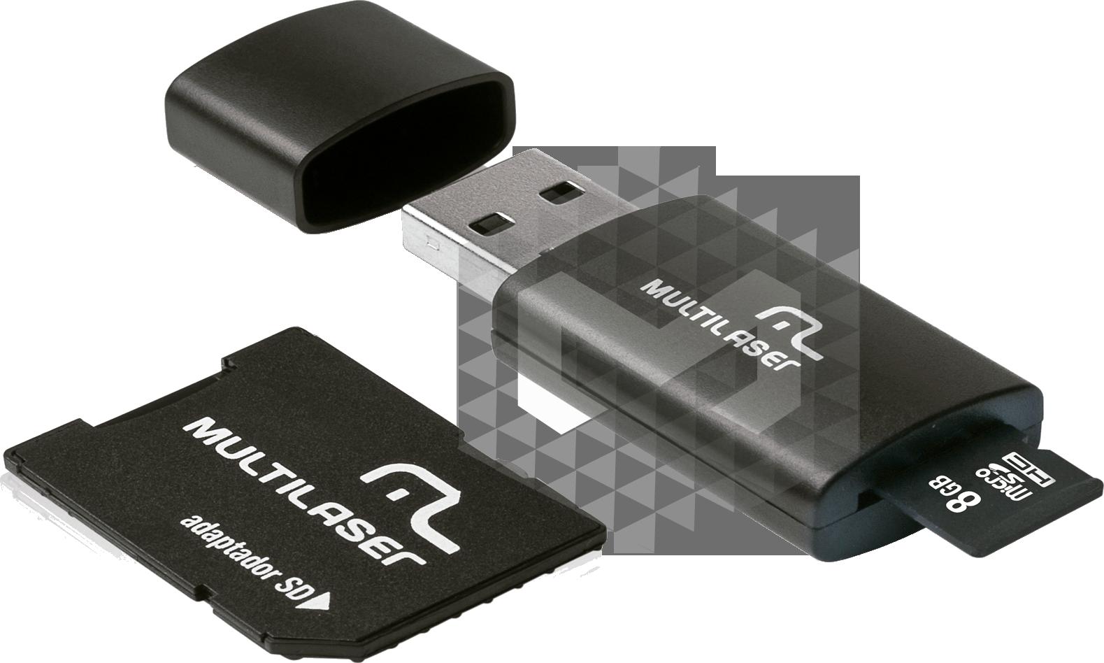 Pen Drive 8Gb 3 em 1 Multilaser